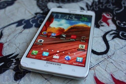 Galaxy Note sẽ có thêm kích thước màn hình 8 inch