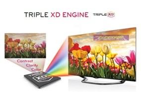 Chip xử lý Triple XD Engine tạo độ sắc nét